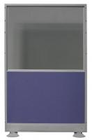 Biombo de mixto: Cristal doble + tapizado - Biombo mixto: cristal doble más tapizado. Medidas 80cm de ancho x 170cm de alto