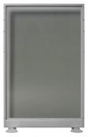 Biombo de cristal doble - Biombo de cristal doble. Medidas 120cm de ancho x 150cm de alto