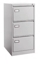 Archivador met�lico 3 cajones - Mueble archivador met�lico 3 cajones para carpetas colgantes formato DIN A4 horizontal. Medidas exteriores: 620 x 420 x 1020 mm