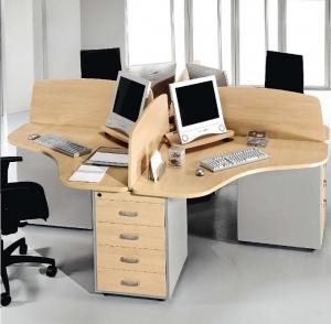 Mesa para teleoperadora - Mesas para teleoperadoras o ciber cabina.