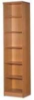 Estantería de biblioteca - Mueble de biblioteca Medida: 208 alto x 47 ancho x 32 fondo