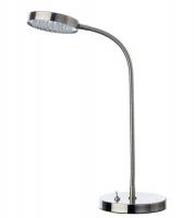 Lámpara Leds - Lámpara 150 x 445 x 110 mm (fondo x ancho x alto) Características:Brazo ajustable Formato de Papel:230 V / 50 Hz / 3.3W 51 LED´S x Max. 0.064 W