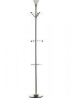 Lámpara halógena - Lámpara 30 x 290 x 1850 mm (fondo x ancho x alto) Características:Perchero con luz halógena incluida. Base: 290 x 30 mm.  Voltaje: 230V / 50 Hz.