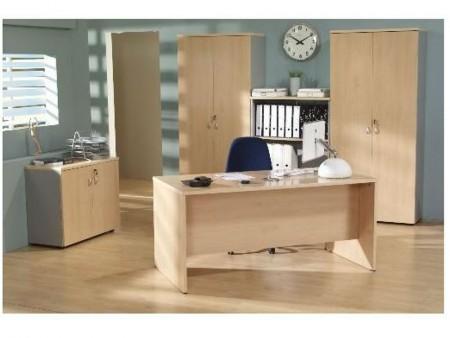 Mesa de oficina basic 140*80*74 cm.