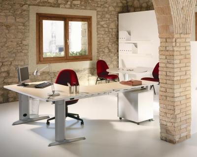 Composici�n 06 de la linea Metal - Aqu� tienes la �ltima tendencia en mobiliario de oficina de l�nea minimalista con un plazo de entrega de 2 a 7 d�as. Solic�tanos precios de estos productos por tel�fono o mail mientras actualizamos la Web. Pulse sobre el bot�n �descargar� para ver carac