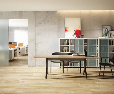 Composición nº 15 de la serie Barcelona - Composición de muebles de la serie Barcelona, ejemplo de distribución de esta nueva serie de mobiliario, mientras introducimos todos los detalles, por favor solicite mas información por teléfono o mail.