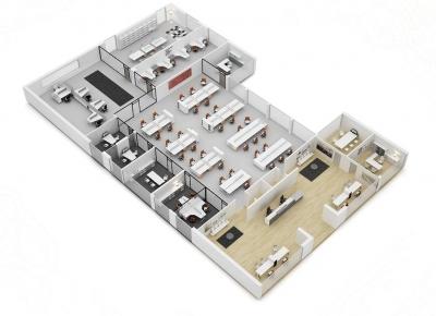Composición nº 16 de la serie Barcelona - Composición de muebles de la serie Barcelona, ejemplo de distribución de esta nueva serie de mobiliario, mientras introducimos todos los detalles, por favor solicite mas información por teléfono o mail.