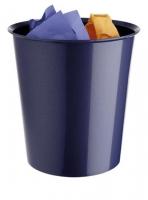 Papelera - Papelera  Incorporaci�n de un aro sujeta bolsas (opcional). Apilable. Colores metalizados. Medidas:290 x 310 mm (fondo x ancho x alto)