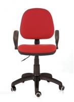 Silla de oficina - Silla de oficina Rueda de goma. Base de nylon. Brazo de nylon. Contacto permanente. Brazos opcionales.   88.60 � ( IVA incluido)