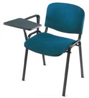 Silla de oficina modelo Tecnic 4 - Patas cromo. Brazo nylon. Con pala plegable