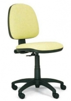 Silla de oficina respaldo medio - Silla operativa ergonmica. Mecanismo contacto