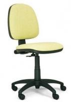 Silla de oficina respaldo medio - Silla operativa ergon�mica. Mecanismo contacto permanente. Regulaci�n en altura del respaldo, y de profundidad del asiento, base en poliamida y brazos en poliuretano.