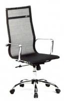 Sill�n Direcci�n de asiento y respaldo alto en red - Sill�n de Direcci�n de asiento y respaldo alto en red. Brazos y base cromada con ruedas de 5 radios.  Colores Disponibles: Negro, Gris y Blanco.