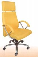 Sillón basculante standard - Sillón anatómico, incorpora mecanismos de elevación y basculación, asiento + respaldo + cabezal en madera posformada por alta frecuencia, goma espuma de alta densidad