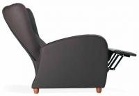 Sill�n relax de geri�trico - Sill�n de geri�trico. Sill�n reclinable mediante un suave mecanismo activado mediante presi�n por la espalda. Respaldo ergon�mico con orejero para apoyo lateral. Brazos elevados para facilitar la incorporaci�n.