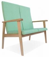 Sof� de geri�trico - Sof� de geri�trico Disponible en versiones de dos y tres plazas. La versi�n de tres plazas est� reforzada con una tercera pata. Respaldos y asientos individuales por plaza.