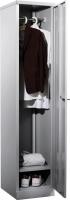 Taquilla metálica - Taquilla metálica individual con 1 compartimento. 1 tarjetero identificador incluido. Incorpora colgador para perchas Medidas exteriores: 457 x 380 x 1830 mm