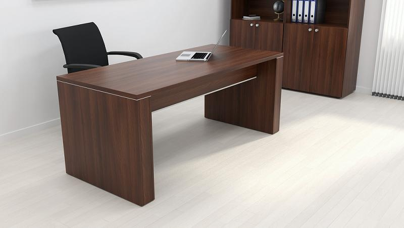 Mesa de despacho 140 cm muebles de oficina sillas de for Muebles para despacho