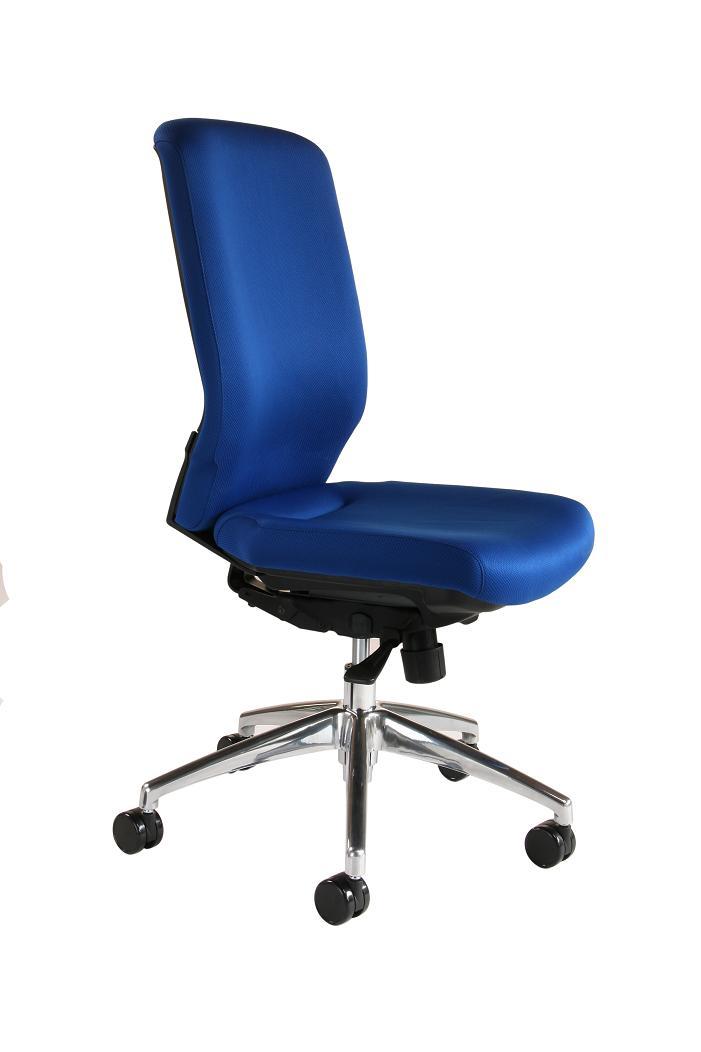 Sillas de oficina sillas silla sin brazos muebles de - Silla oficina sin ruedas ...