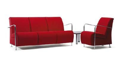 Sill n sala de espera sill n de visita silla de oficina for Muebles sala de espera
