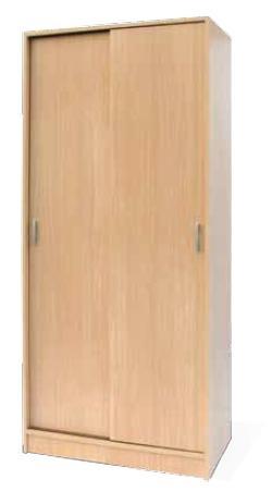 Casa residencial familiar armario 2 puertas correderas for Armario puertas correderas 100 cm
