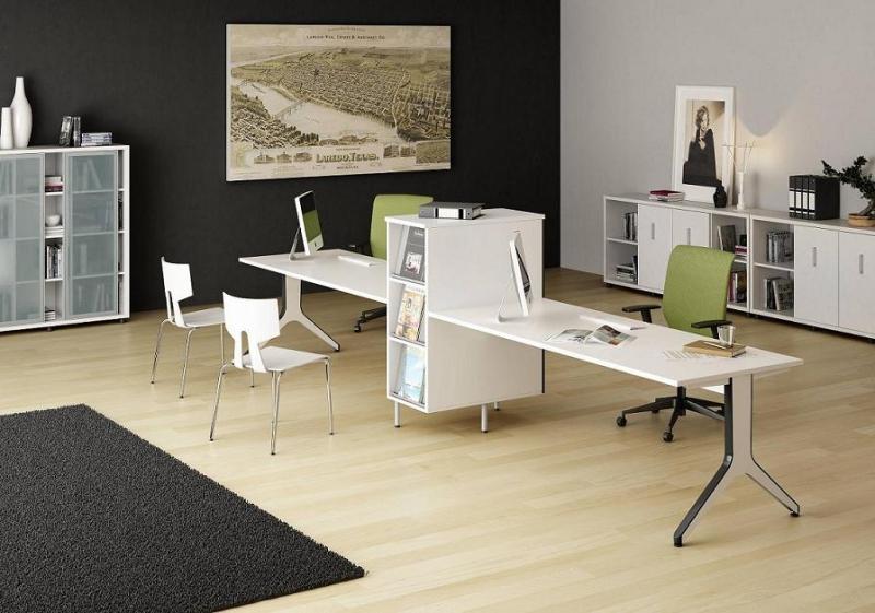 Mobiliario de oficina serie barcelona for Muebles de oficina ejemplos