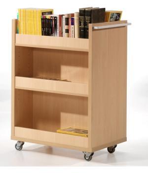 Carro biblioteca estanteria biblioteca mobiliario de - Mobiliario para libreria ...