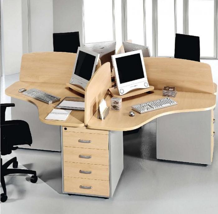 Ciber cabina mesas teleoperadoras cabinas telemarketing for Mobiliario de oficina de diseno