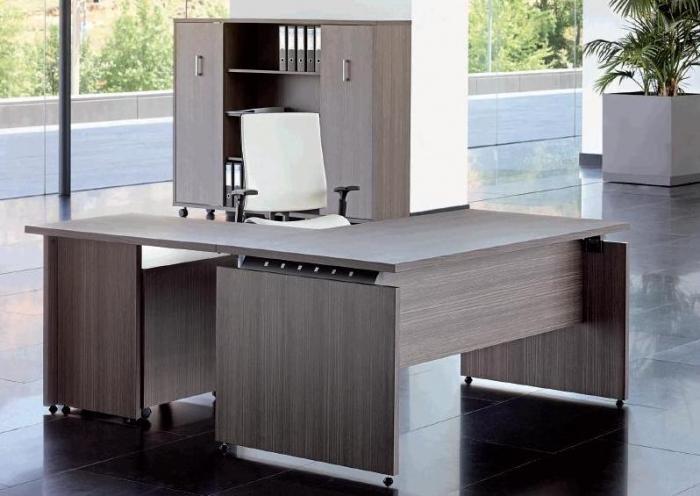 Mesas de la linea de mobiliario cr muebles de oficina for Despacho oficina