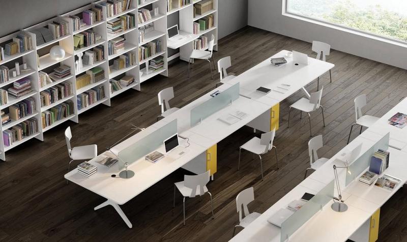 Mobiliario de oficina serie barcelona for Mobiliario para oficinas modernas