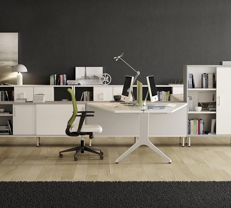 Mobiliario de oficina serie barcelona for Muebles de oficina ocasion barcelona