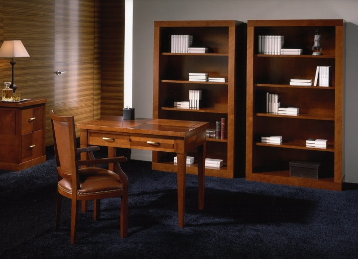 Muebles de despacho estilo cl sico mobiofic - Muebles despacho clasico ...