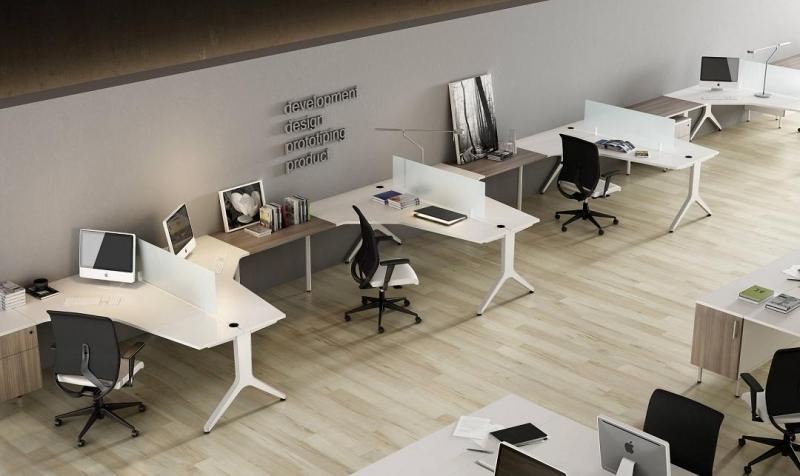 Mobiliario de oficina serie barcelona - Camas pegadas ala pared ...