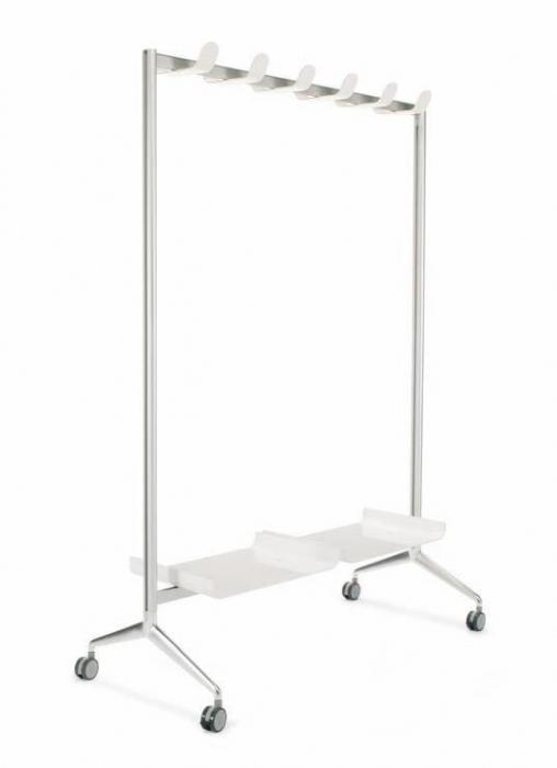 Perchero con ruedas muebles de oficina sillas de for Perchero oficina