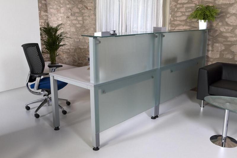de cristal en dos modulos  Muebles de oficina  sillas de oficina