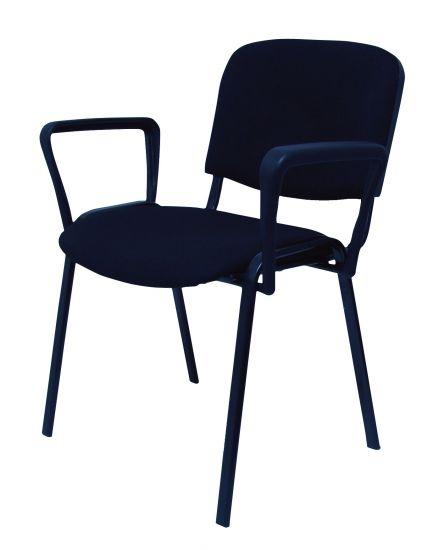 Silla confidente silla de oficina mobiliario de oficina for Sillas modernas con brazos