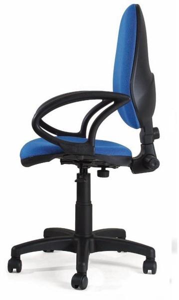 Sillas de oficina sillas silla sin brazos muebles de for Silla ergonomica oficina