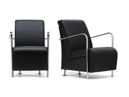 Sill n sala de espera sill n de visita silla de oficina for Sillas sala de espera