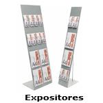Expositores para catálogos