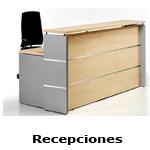 Recepciones / Mostradores