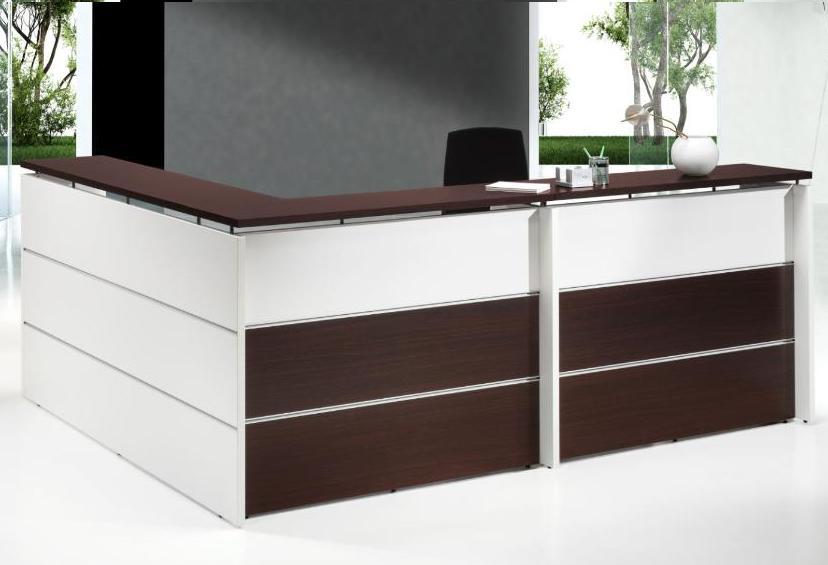 Mobiliario de oficina recepciones mostradores salas de espera for Recepcion oficina moderna