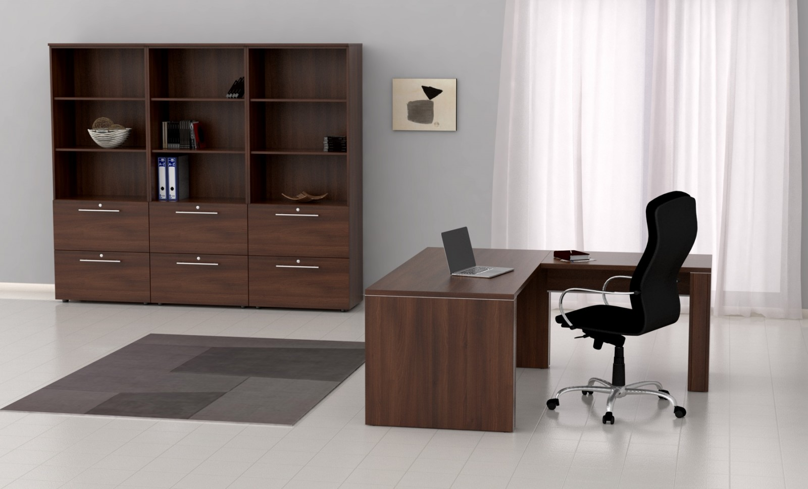 Mesa de despacho de 180 cm. |Muebles de oficina|mobiofic.com