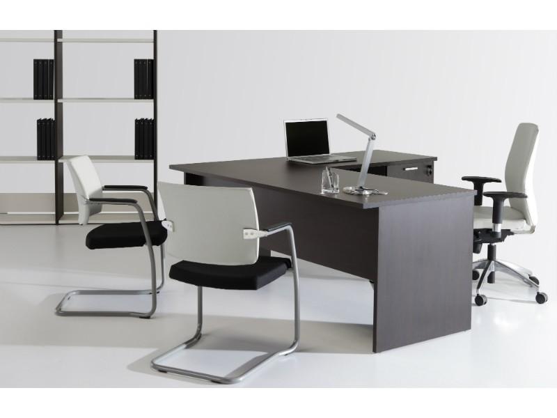 Mesa de oficina de 140 x 80 serie basic | mesas de oficina | mobiofic.com