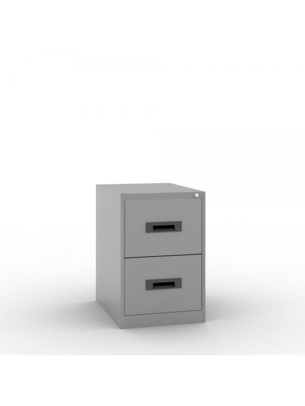 Archivador 2 cajones - 2 cajon folio ancho 47 x 65 fondo x 71 alto admite todos los tamaños de carpetas colgantes (A4 , folio y folio ) sistema antivuelco cerradura centralizada