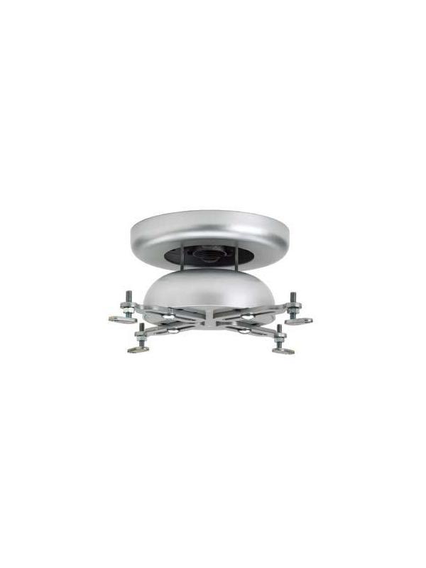 Soporte de aluminio-techo - Soporte de aluminio con movimiento de inclinación, giro y panorama. Permite adapar proyectores. Viene montado