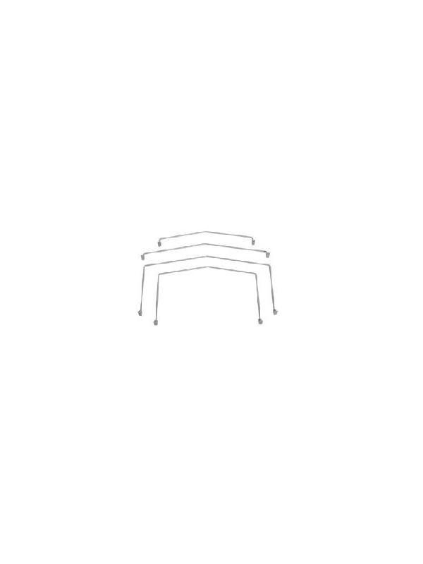 Varilla tope metálica - Varilla tope metálica para la CAM01 y la CAM02. Se presenta en varias medidas y acabados y facilita el correcto traslado de carpetas, etc.
