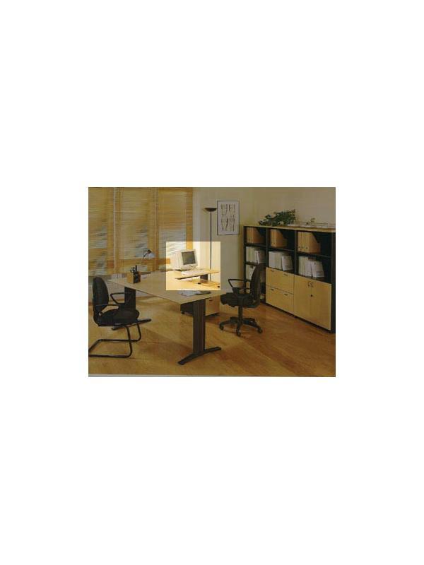 Ala de mesa de oficina  120*60*74 - Ala de mesa de oficina  de 120cm de largo x 60cm de ancho x 74cm de alto.