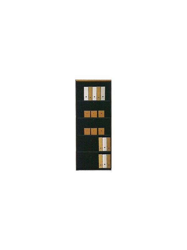 Mueble de oficina alto con estantes 196*80*40 - Armario alto con estantes de 196cm de alto x 80cm de ancho x 40cm de profundidad.