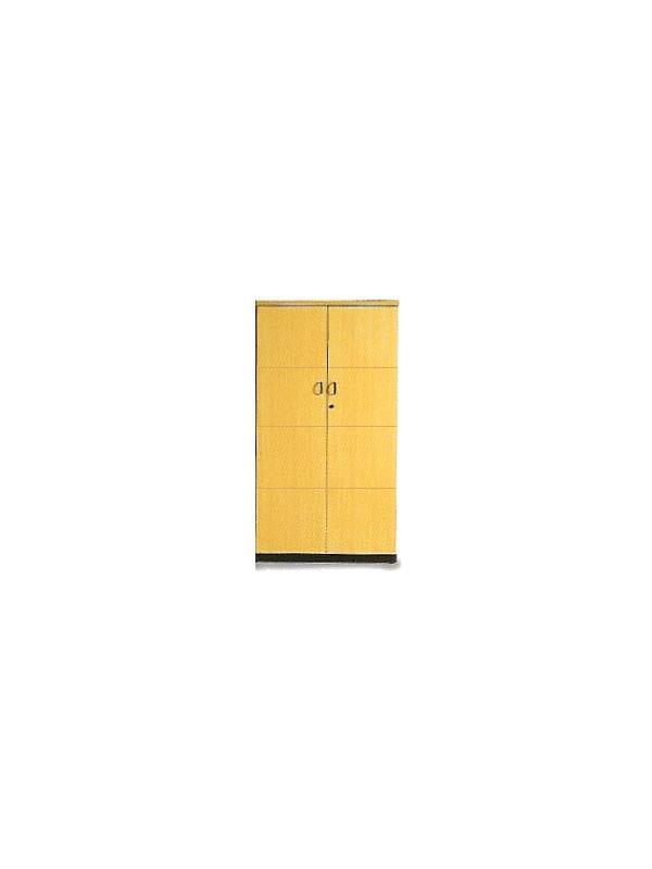 Mueble de oficina mediano con puertas 148*80*40 - Armario mediano con puertas y 3 estantes de 148cm de alto x 80cm de ancho x 40cm de profundidad.