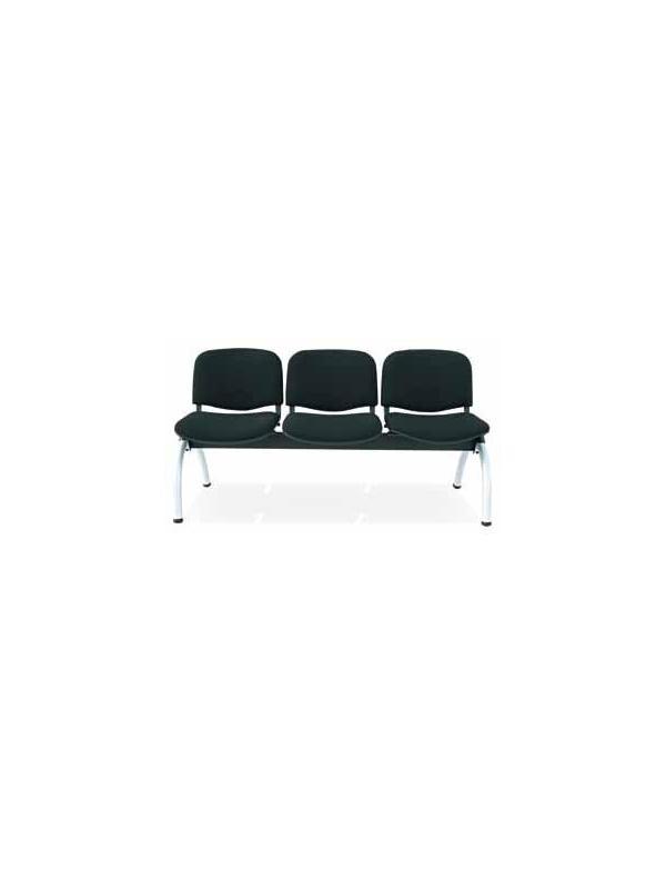 Bancada geriátrico - Bancada geriátrico Disponuble en formato de dos,tres cuatro y cinco plazas Posibilidad de incorporar mesa en alguna de las plazas. Opción de carcasa tapizada, en PVC o en madera barnizada.